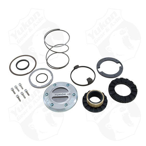 Yukon Hardcore Locking Hub Set For 94-99 Dodge Dana 60 With Spin Free Kit 1 Side Only Yukon Gear & Axle