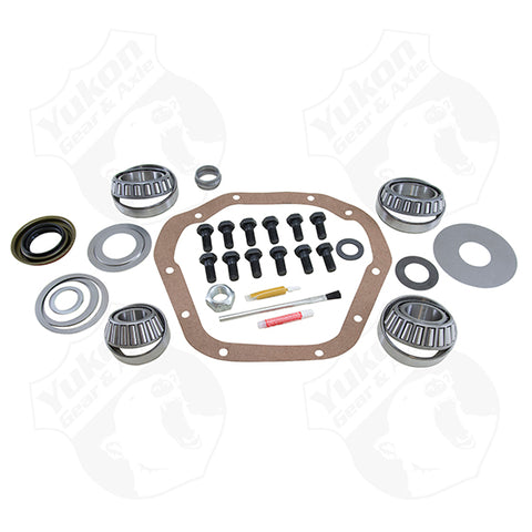 Jeep TJ 1996-02 3.73 Ratio Gear Package (D44-D30) with Koyo Bearings Revolution Gear and Axle