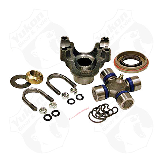 Yukon Replacement Trail Repair Kit For Dana 30 And 44 With 1350 Size U Joint And Straps Yukon Gear & Axle