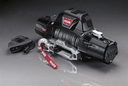 Warn ZEON 10-S 10000lb Recovery Winch with Spydura Synthetic Rope - 89611 - HQ Offroad