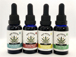 CBD Family Four Pack- Try and Share All Four of our Favorites
