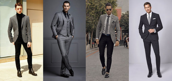suit-black-grey-white-combination