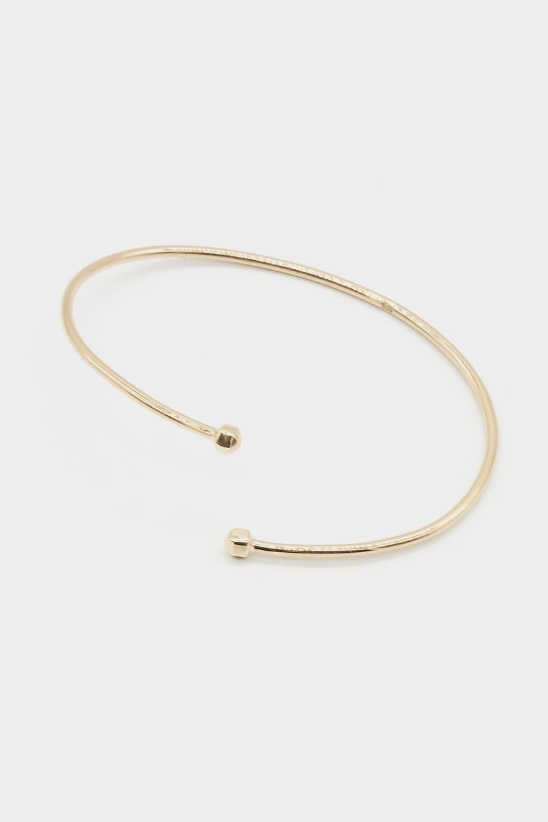 Dusty Bangle | 9K Yellow Gold