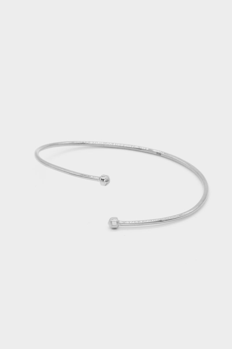 Dusty Bangle | Silver