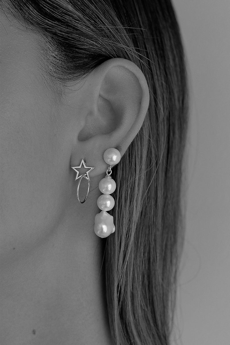 Amelia Earrings | Silver