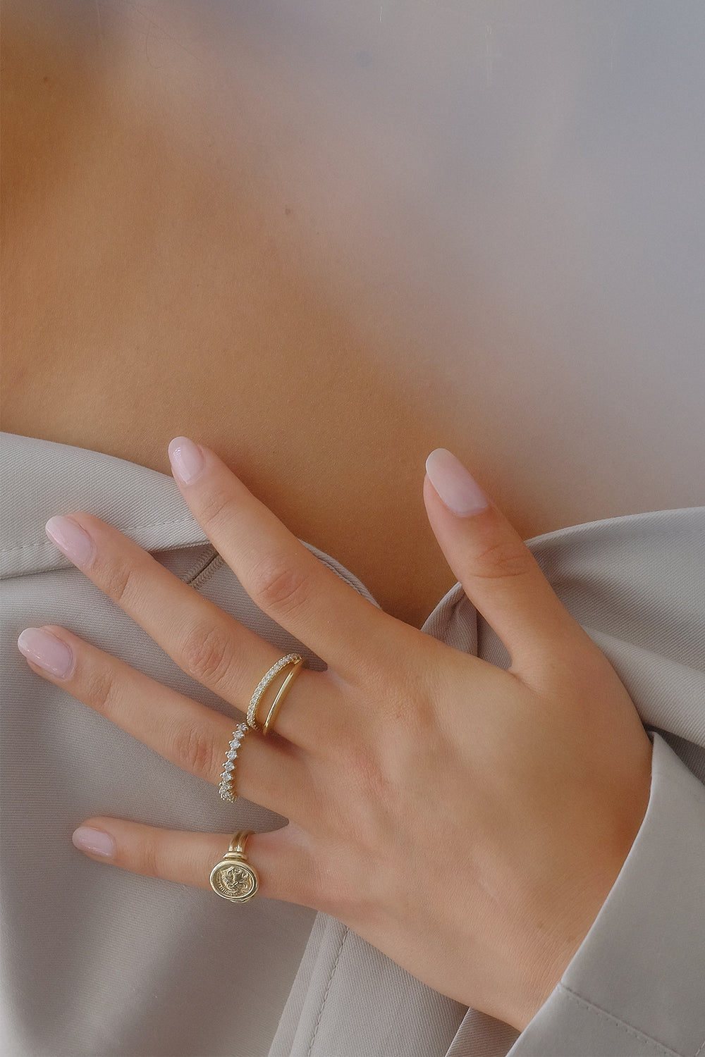Harley Ring | Yellow Gold