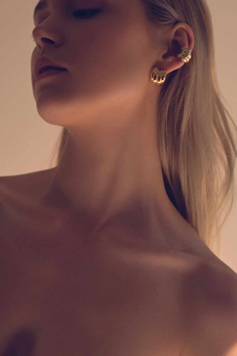 Jamie Earrings | Gold
