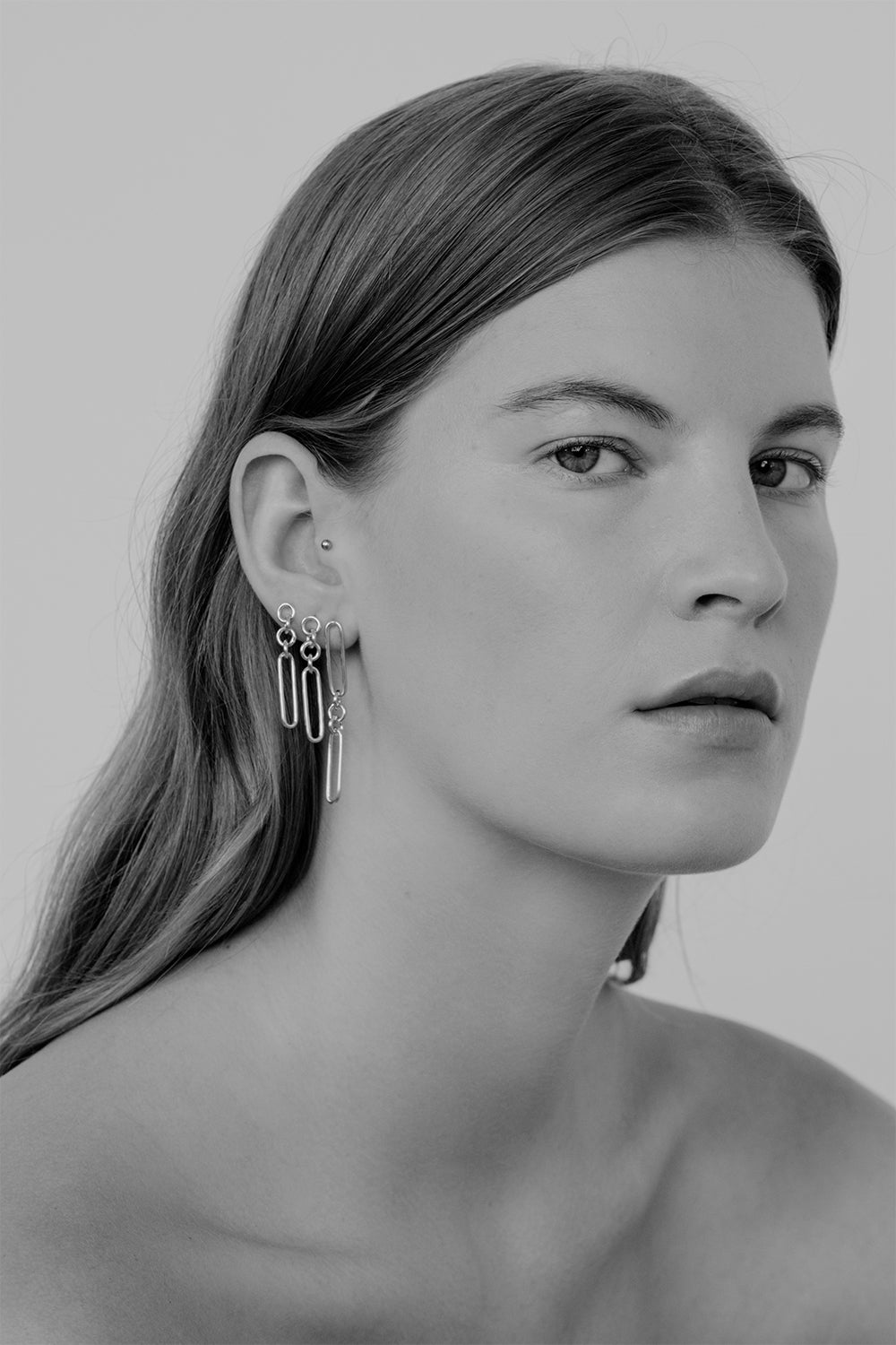 Lennie Earrings | Silver