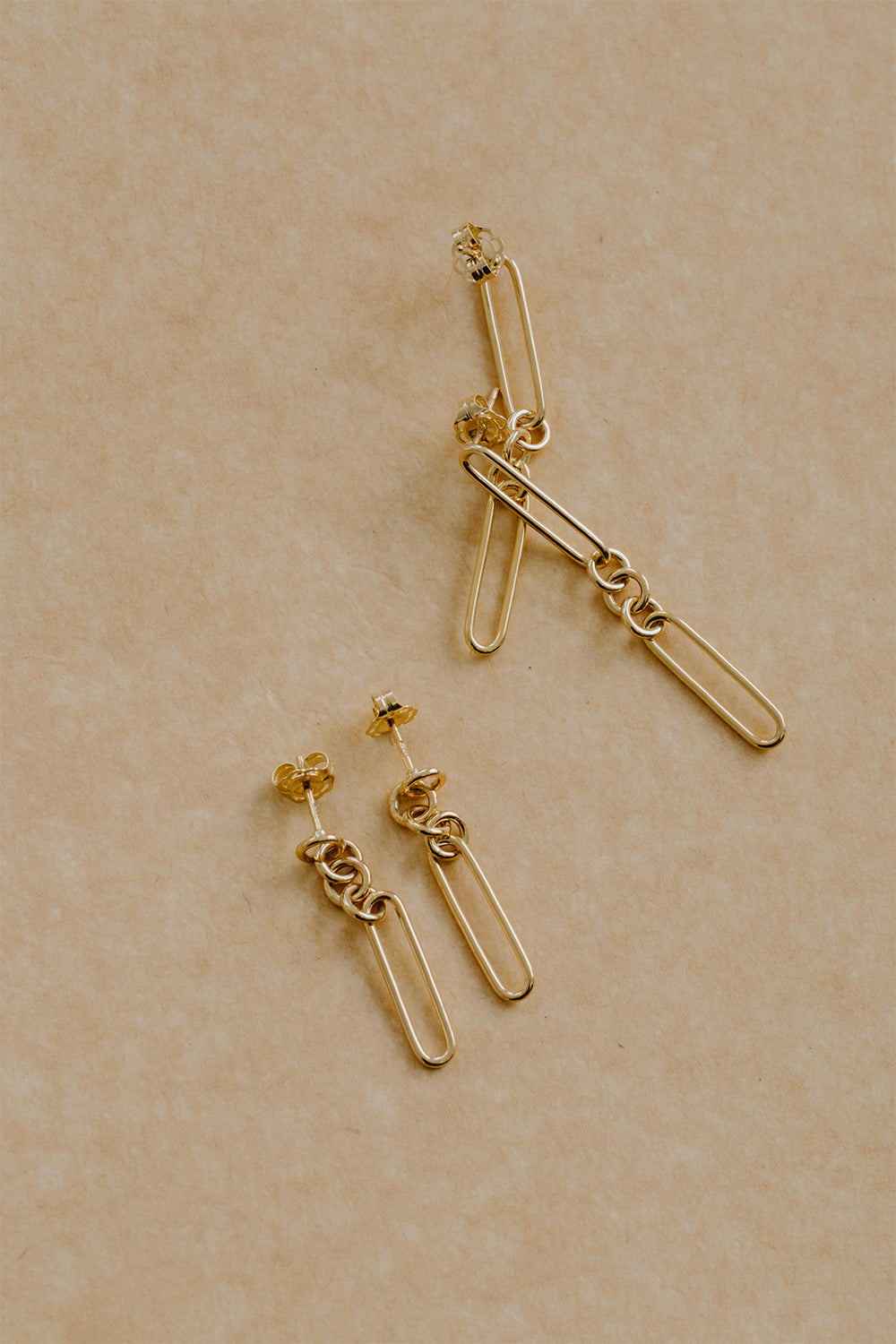 Lennie Earrings | 9K Yellow Gold