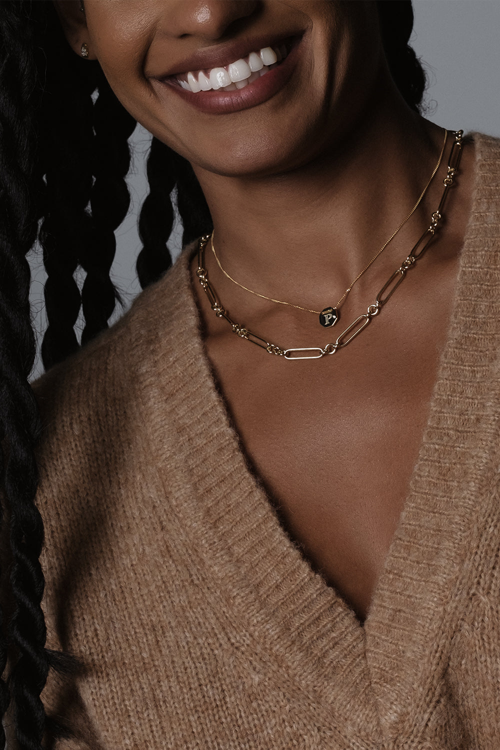 Lennox Necklace | 9K Yellow Gold