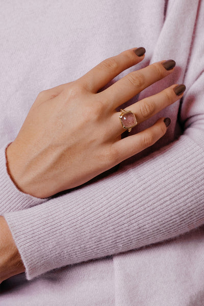 North Ring | 9K Yellow Gold