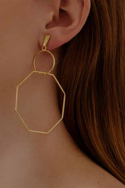 Odette Earrings | Gold Plated