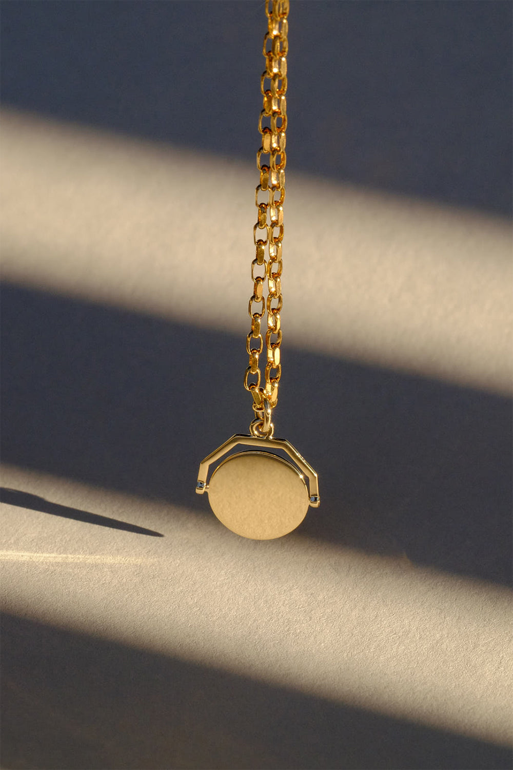 Odette Spinner Necklace | 9K Yellow Gold