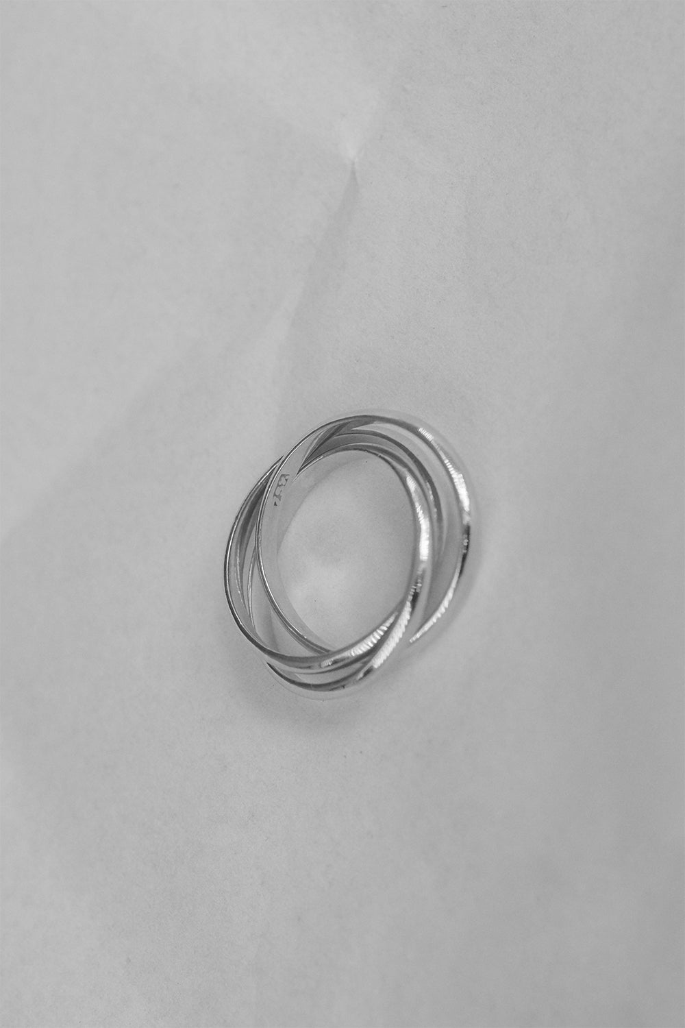 Sascha Triple Band Ring | Silver