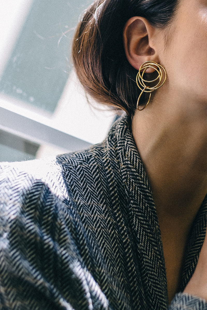 Stevie Earrings | Gold Plated