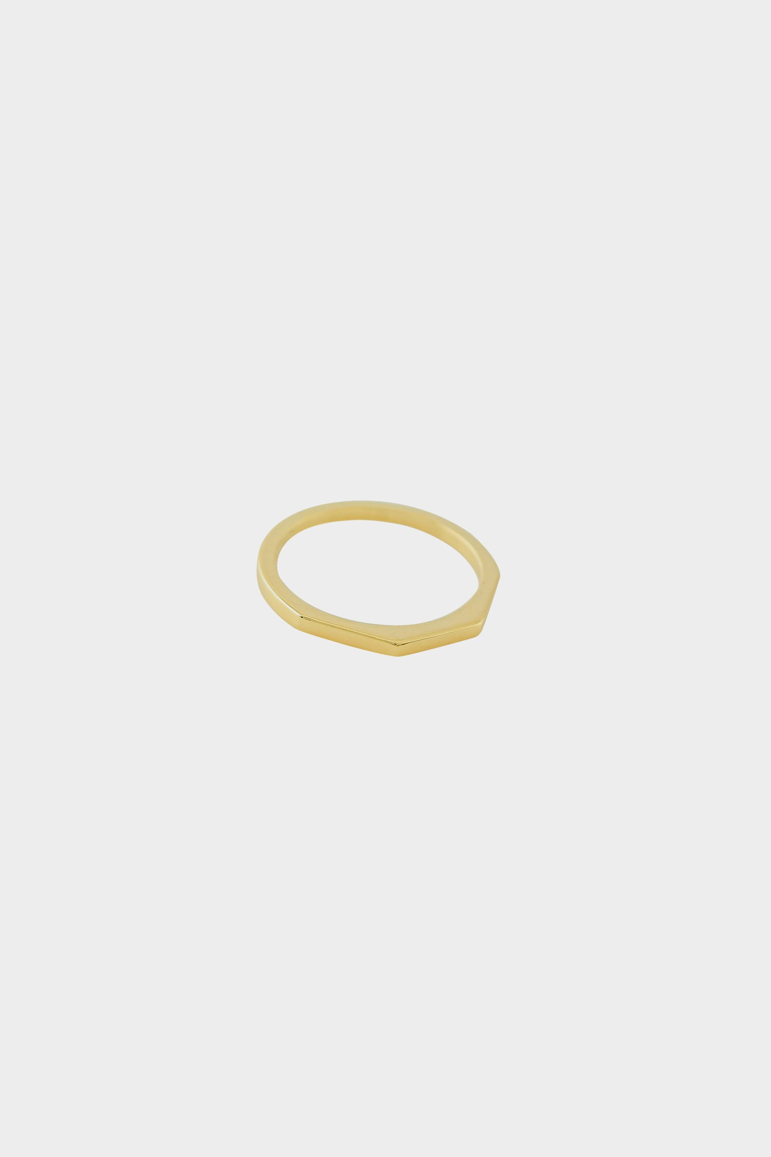 El Ring | 9K Yellow Gold