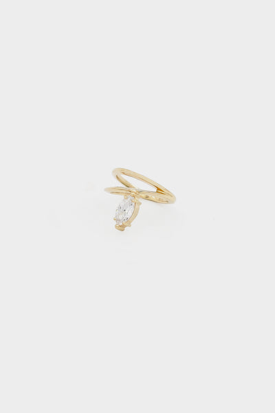 Marquise Diamond Ring | Gold