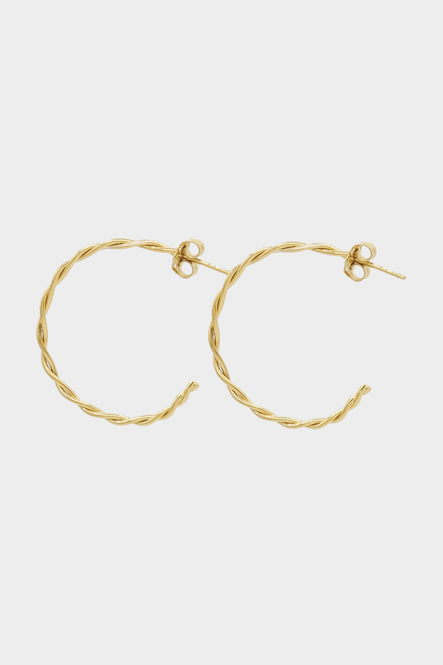 Helix Earrings Medium | Gold