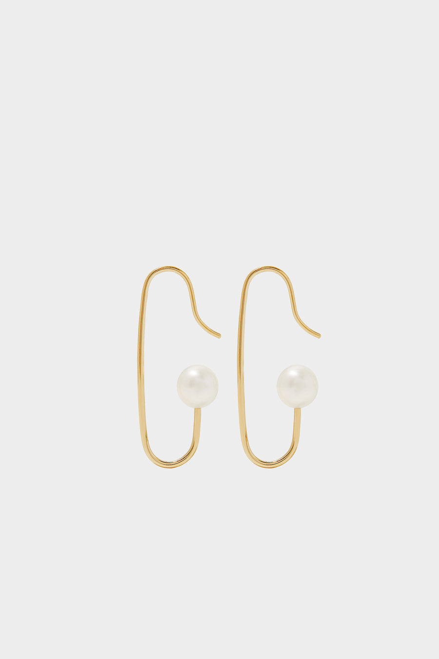 Mini Marion Pearl Earrings | 9K Yellow Gold