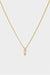 Mini Marquise Diamond Necklace | 18K Yellow Gold
