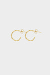 Helix Earrings Small | Gold