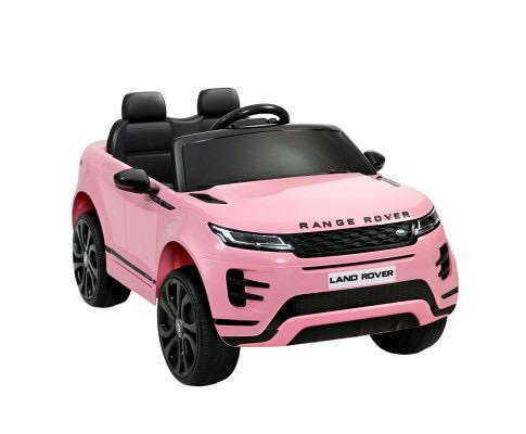 RANGE ROVER pink kids car