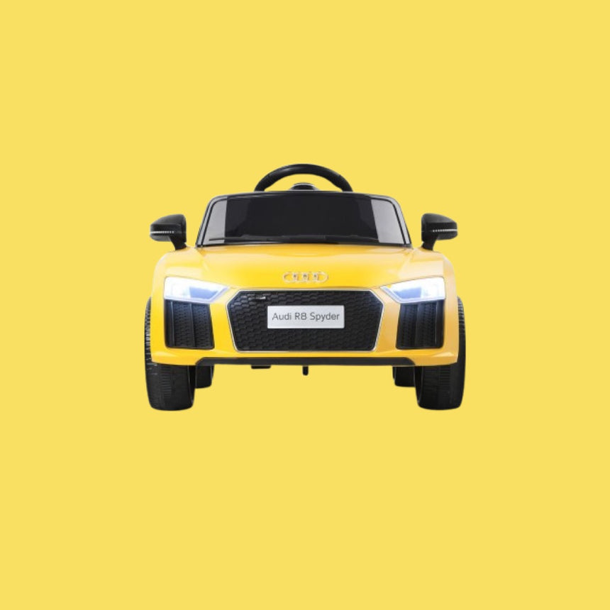 AUDI Yellow Kids Ride on Car R8