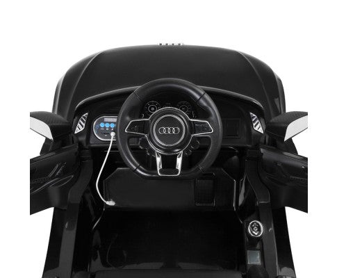 AUDI Black Kids Ride on Car R8