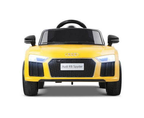 Audi R8 Licensed - Funck Yellow