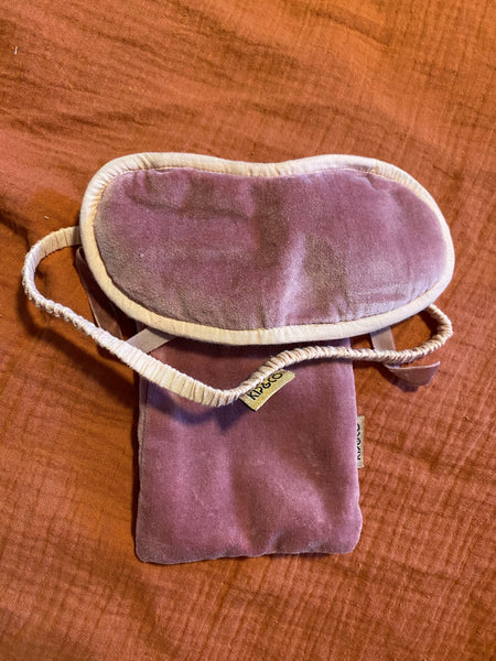 Kip & Co Dusty Pink Eye Mask
