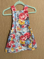 Floral Pinny 6-12 Months