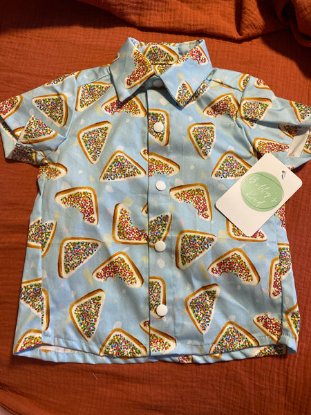 Fairy Bread Button Up Size 3 *Last Chance