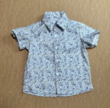 Silver Leaf Billy Button Up