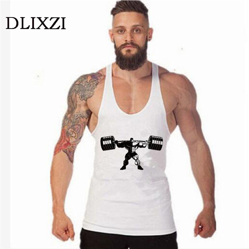 fashion sporting male fitness t shirt bodybuilding clothing brands men workout sleeveless tank tops vest sweatshirt muscle shirt