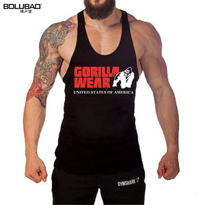 BOLUBAO New Arrivals Brand Men's Tanks Cotton Fashion Tank Tops Sleeveless Vests Casual Printed Gyms Tank Tops Men Bodybuilding