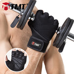 TMT Breathable Sports Gym Gloves
