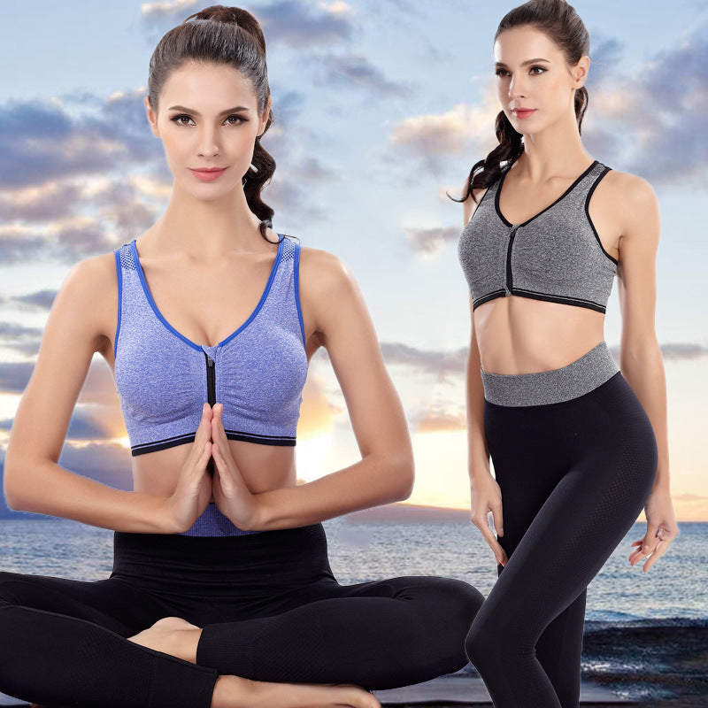 2018 New 2Pcs Yoga Sets Women Sport Suit  Sportswear Leggings Tight Gym Running Fitness Clothes Breathable Sports Bra + Pants