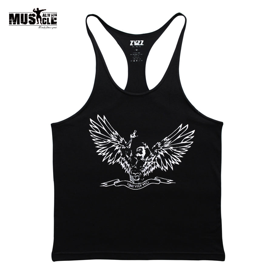 2018 Bodybuilding Clothing Brands Cotton T-shirts for Male Tank Top Men's Vest Sleeveless Fitness Stringers ZYZZ Blouses Spring