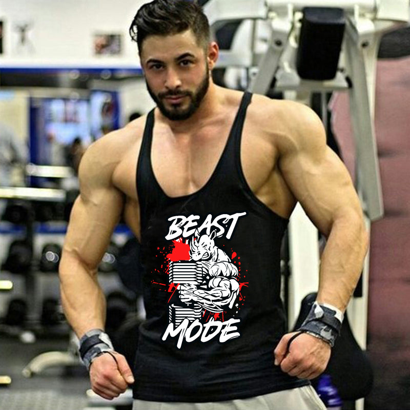 Golds gyms clothing Brand singlet canotte bodybuilding stringer tank top men fitness T shirt gyms muscle sleeveless vest Tanktop