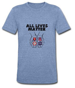 All Lives Matter Unisex Short Sleeve Jersey T-Shirt