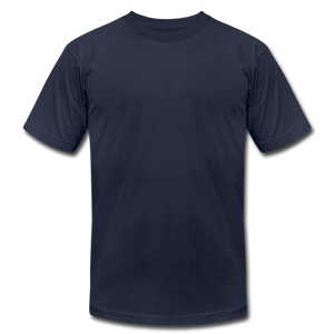 Unisex Jersey T-Shirt by Bella + Canvas - navy