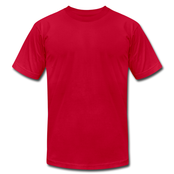 Unisex Jersey T-Shirt by Bella + Canvas - red