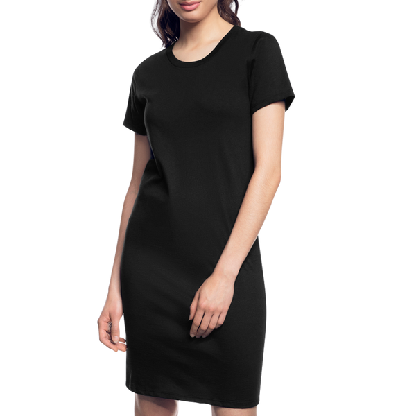 Women's T-Shirt Dress - black