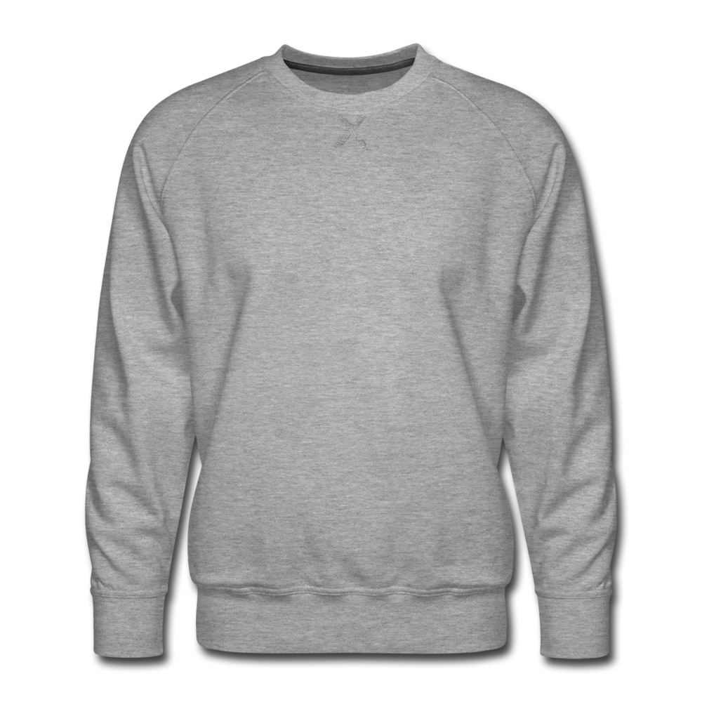 Men's Premium Sweatshirt - heather gray