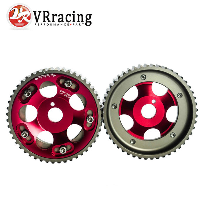 VR RACING - (1Pair) For Toyota 1JZ 2JZ DOHC Adjustable Aluminum Cam Gear