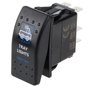 LED Toggle Switch Light Truck Car SUV 5 pin