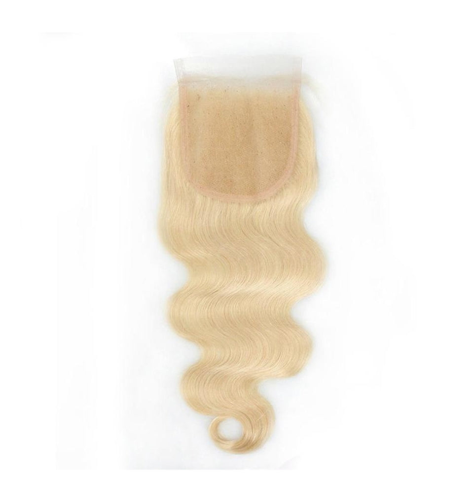 #613 Blonde Body Wave 5x5 Closure