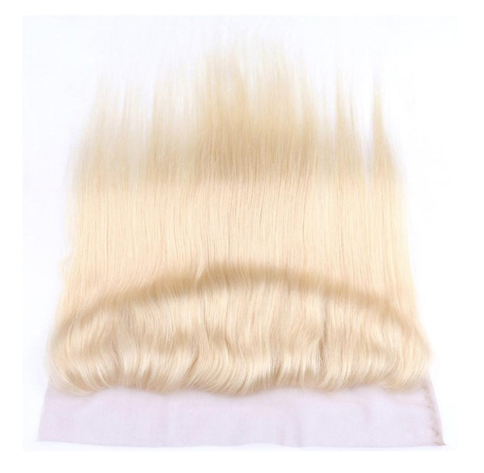 #613 Blonde Straight Lace Frontal