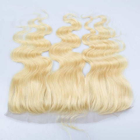 #613 Blonde Body Wave Lace Frontal