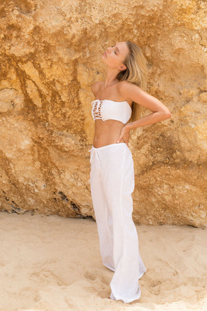 DESERT STAR PANTS - WHITE